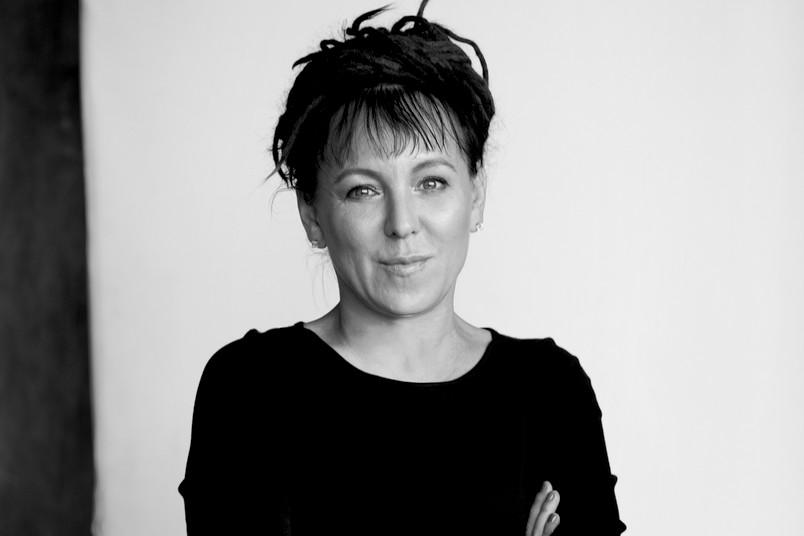 Schwarz-weiß-Porträt einer etwa 50-jährigen Frau