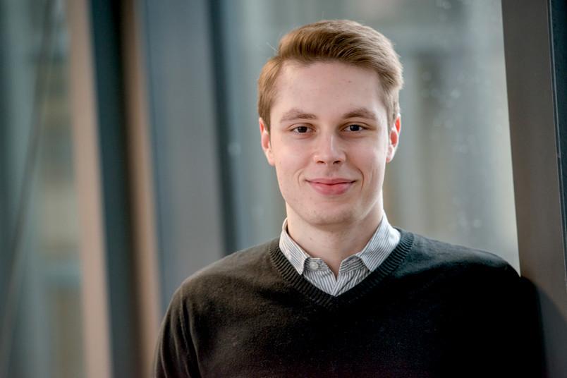 Jura-Student Gleb Sakovski.