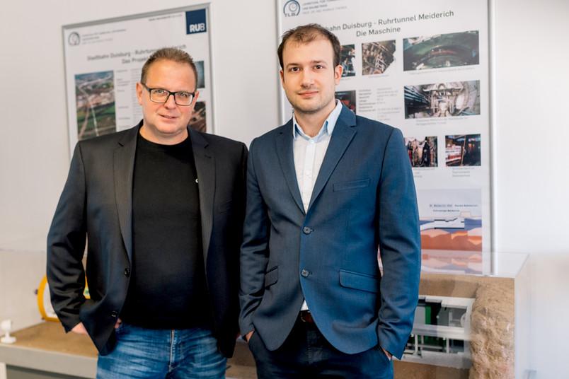 Jörg Sahlmen vom Studiengang Computational Engineering schlug Vladislav Gudzulic für die Auszeichnung vor.