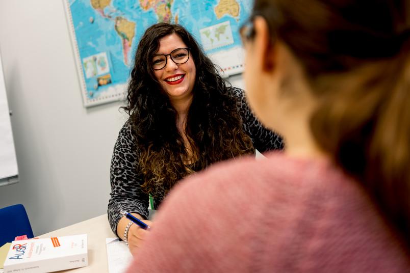 Christine Bauer engagiert sich in dem studentischen Verein Refugee Law Clinic.