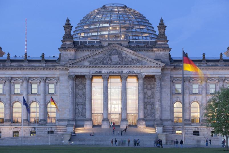 Der deutsche Reichstag von außen