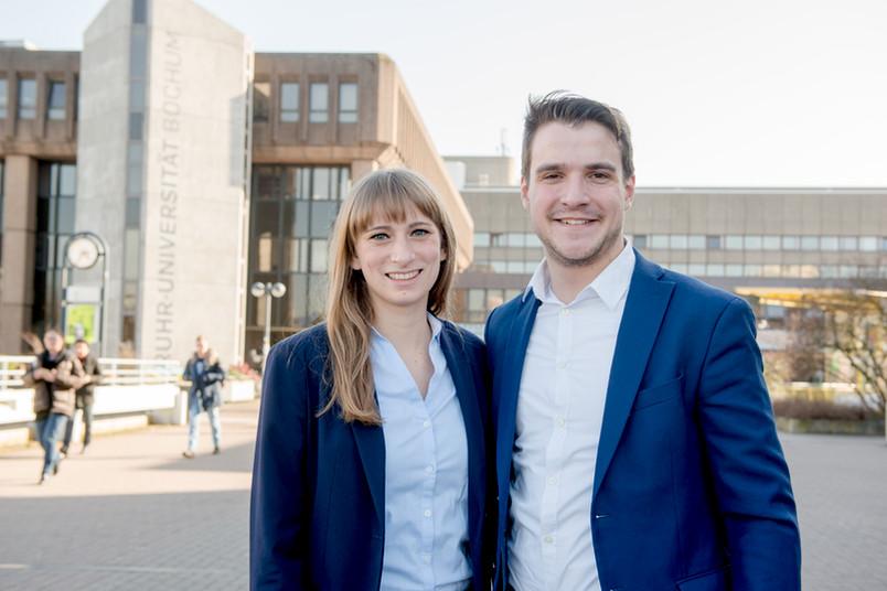 Nele Borgert und Linus Stieldorf