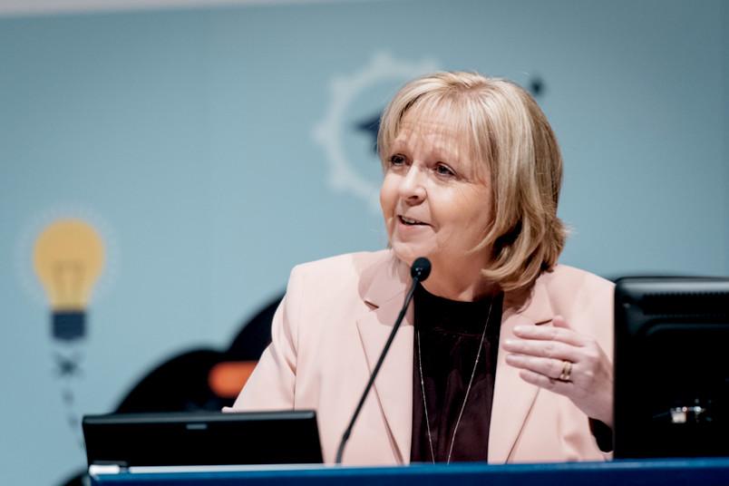 NRW-Ministerpräsidentin Hannelore Kraft beim Bildungskongress in Bochum