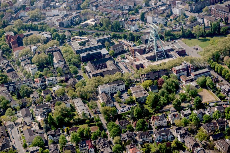 Luftbild Bochum Innenstadt