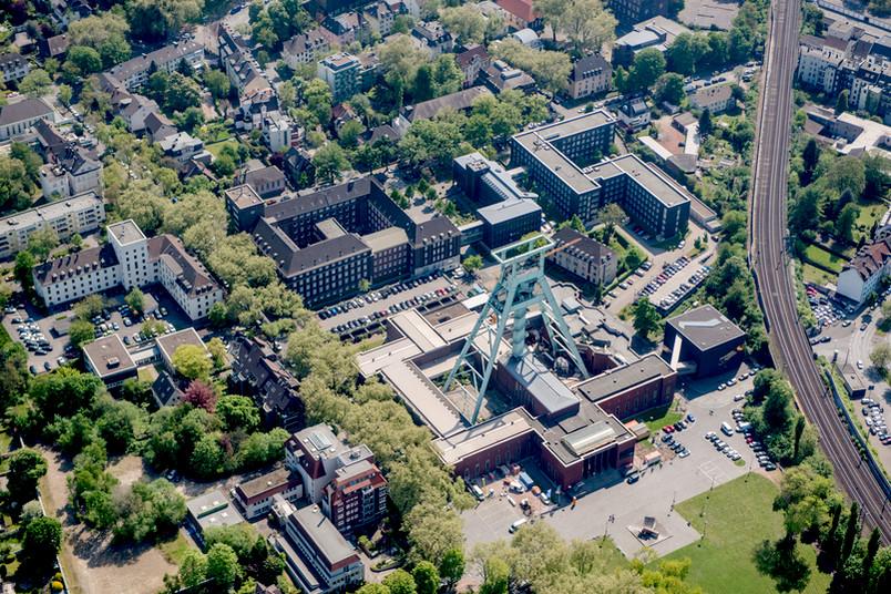 Luftbild von Bochum