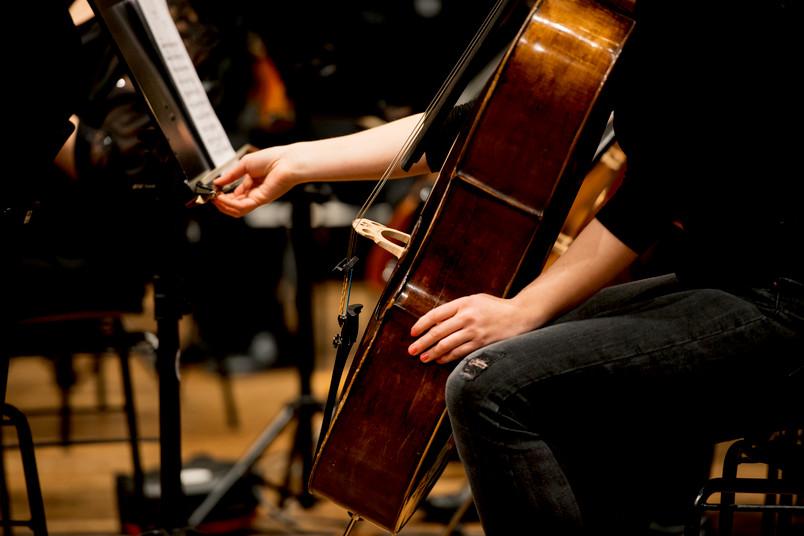 Stillleben mit Cello