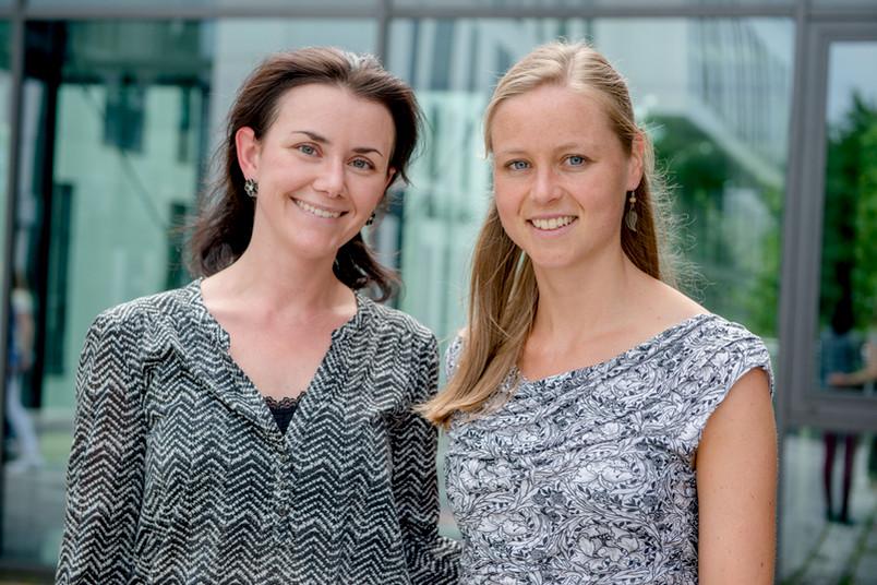 Zwei Forscherinnen