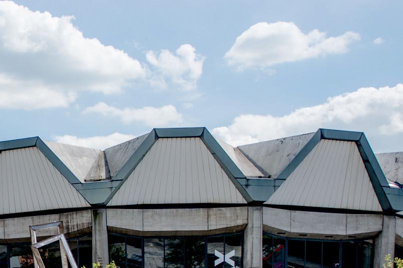 Wolken über dem Audimax