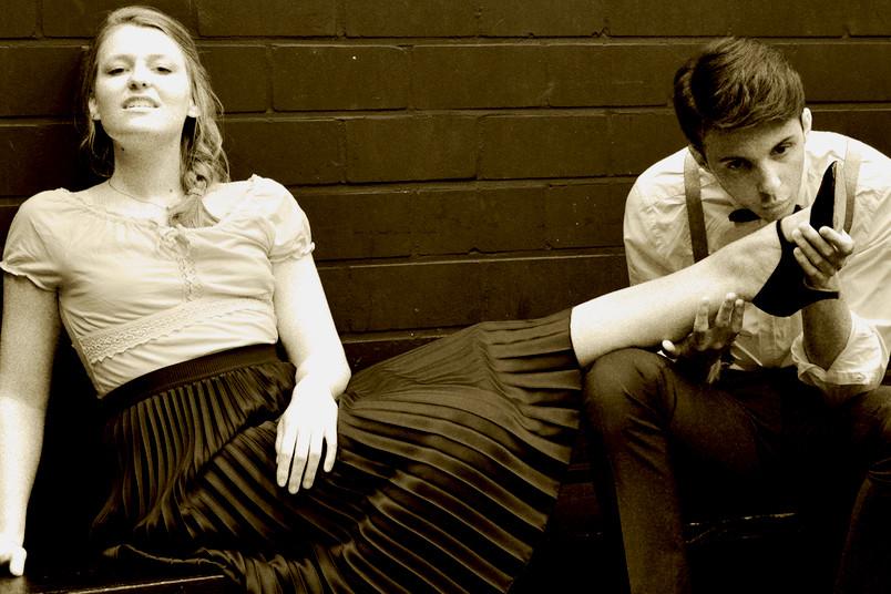 Szene aus dem Theaterstück Fräulein Julie