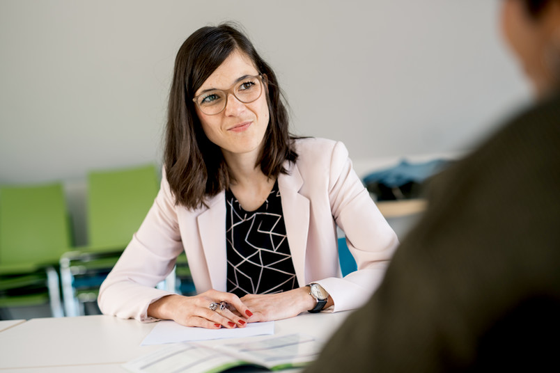 <div> Pia Henneken von der Zentralen Studienberatung ist Expertin für Lernstrategien.</div>