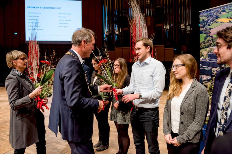 Auszeichnungen bei der Akademischen Jahresfeier 2017