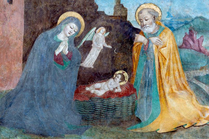 <div> Fehlen noch Ochs und Esel – woher kommen unsere Bilder von Weihnachten?</div>
