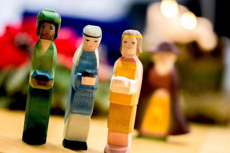 Krippen-Holzfiguren