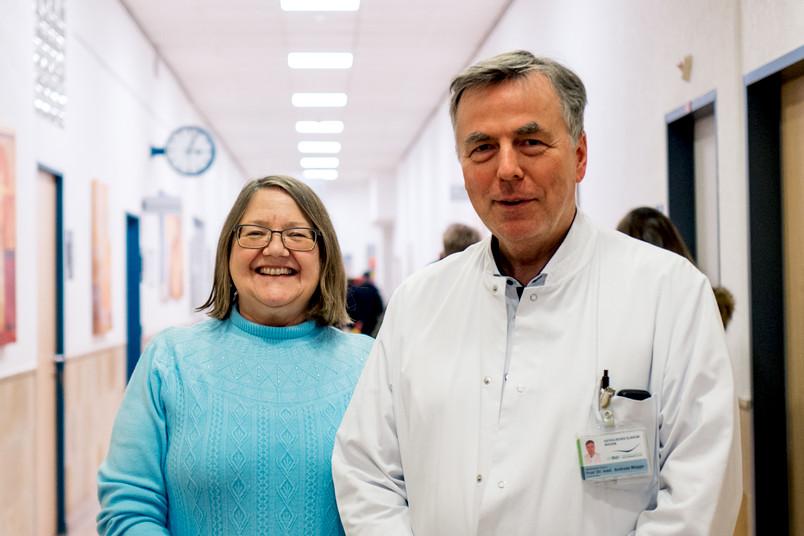 Kornelia Jaquet und Andreas Mügge
