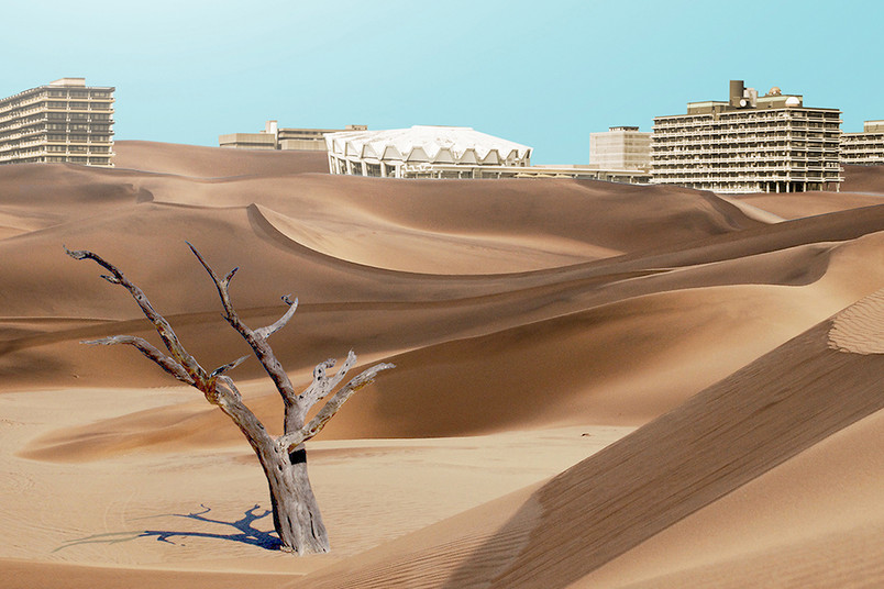 <div> Wird die RUB im Sand versinken? Schüler entwickeln Ideen, die das verhindern sollen.</div>