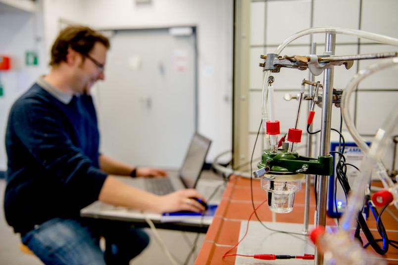 Experiment in der Chemie