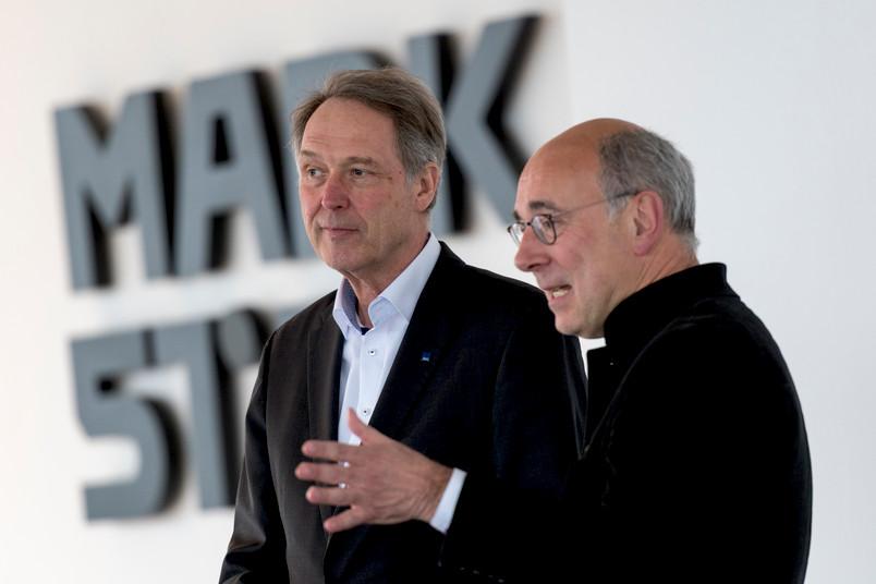 Axel Schölmerich (links) und Norbert Herrmans