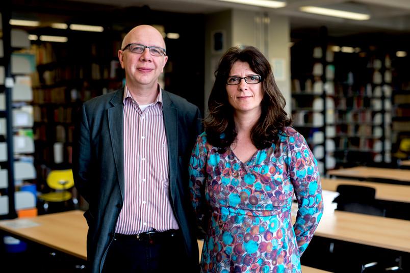 Nikolaj Plotnikov und Anke Hennig
