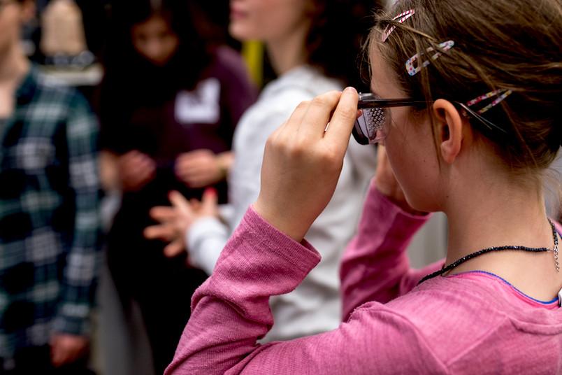 <div> Spannende Einblick in die Studiengänge und Ausbildungsberufe der RUB gab es beim Zukunftstag.</div>