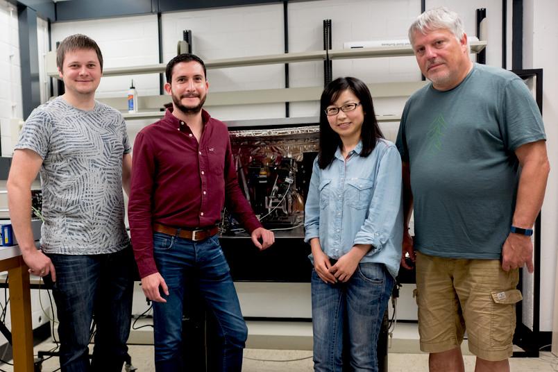 Team vom Bochumer Zentrum für Elektrochemie