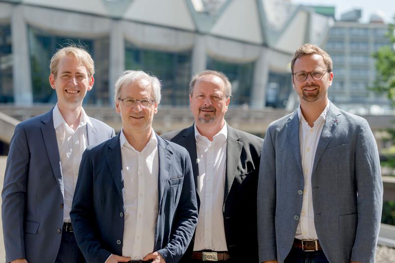Jens Wegener; Constantin Goschler, Michael Wala, Christopher Kirchberg