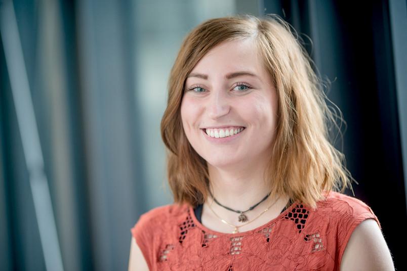 Porträt von einer Studentin