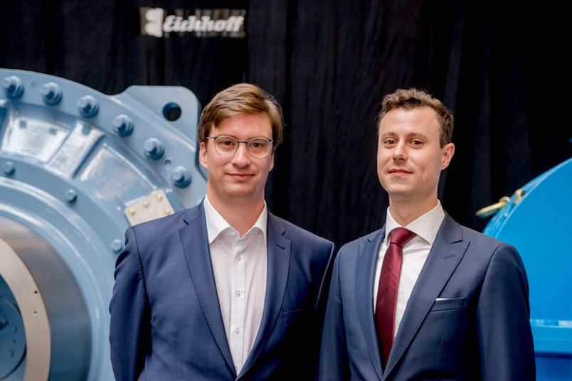 Helge Stein und Jan Trieschmann