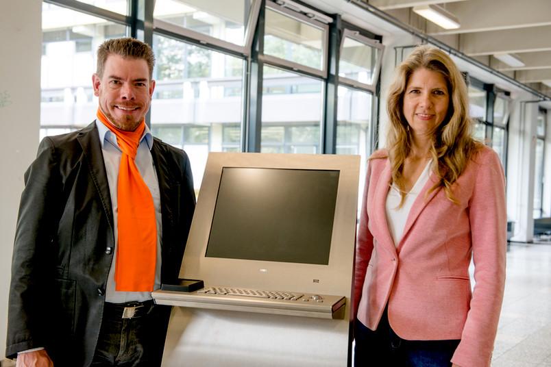 Arnulf Schüffler und Annette Kluge