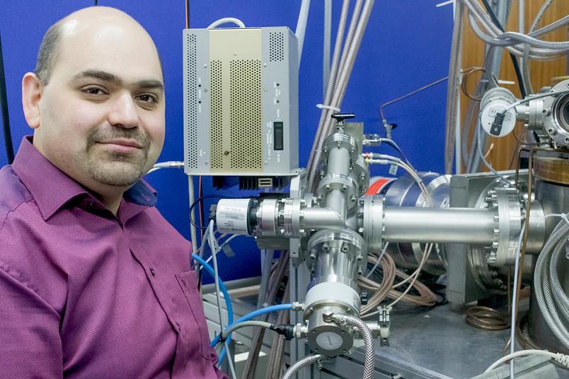 Tsanko Tsankov im Labor