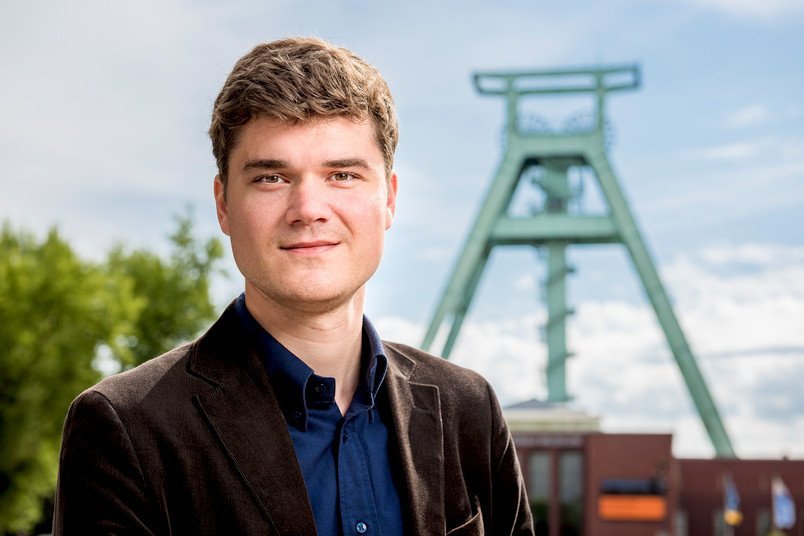 Daniel Trabalski for dem Förderturm des Deutschen Bergbaumuseums in Bochum