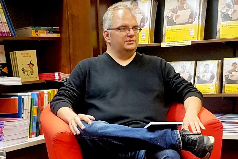 Autor und Altenpfleger Ingo Fischer
