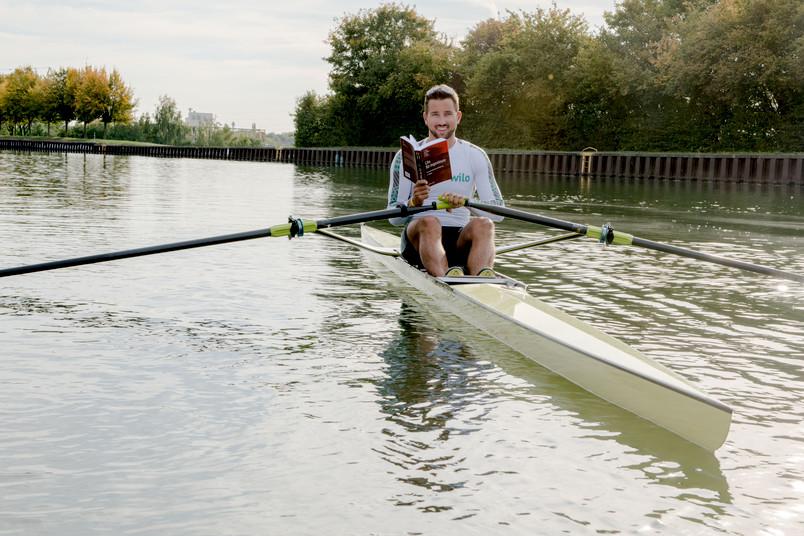 <div> Bei Felix Wimberger sitzen Studium und Spitzensport in einem Boot.</div>