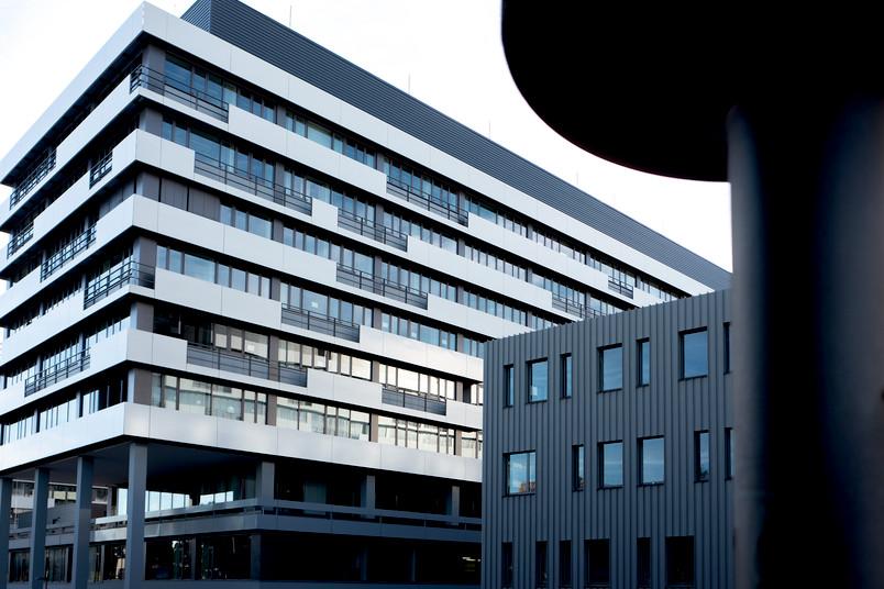 Nagelneues Gebäude IA auf dem Campus der RUB