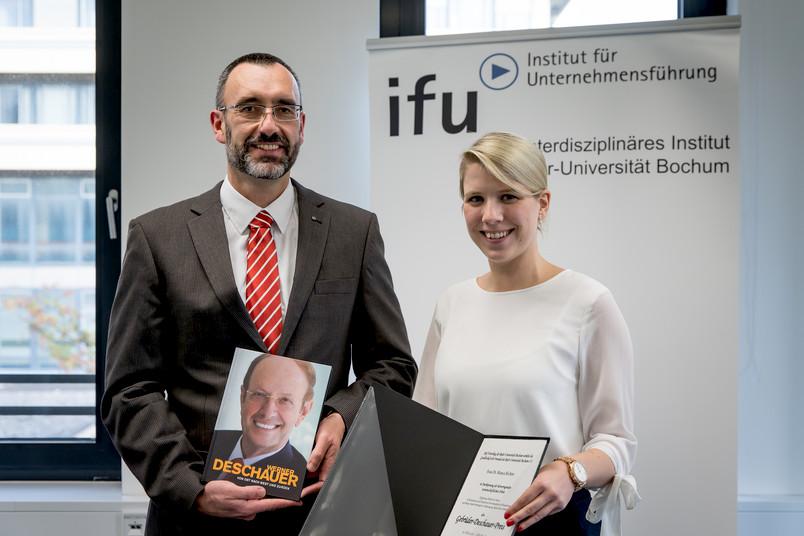 Prof. Dr. Michael Roos und Dr. Bianca Richter