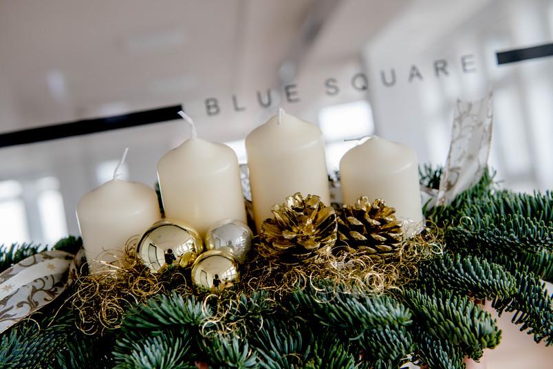 <div> Das Blue Square präsentiert sein Weihnachtsprogramm.</div>