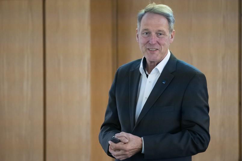Porträt von Rektor Axel Schölmerich