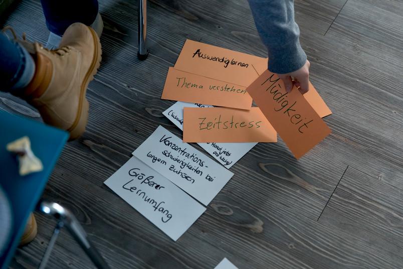 <div> Auch Lernen will gelernt sein – Workshops der Studienberatung zeigen, wie es geht.</div>