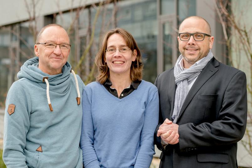 Bernd Marschner, Ute Krämer und Holger Koch