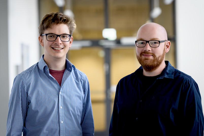 Benjamin Mewes und Henning Oppel