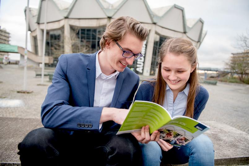 <div> Im September lädt die RUB zu den Talenttagen Ruhr auf den Campus ein.</div>