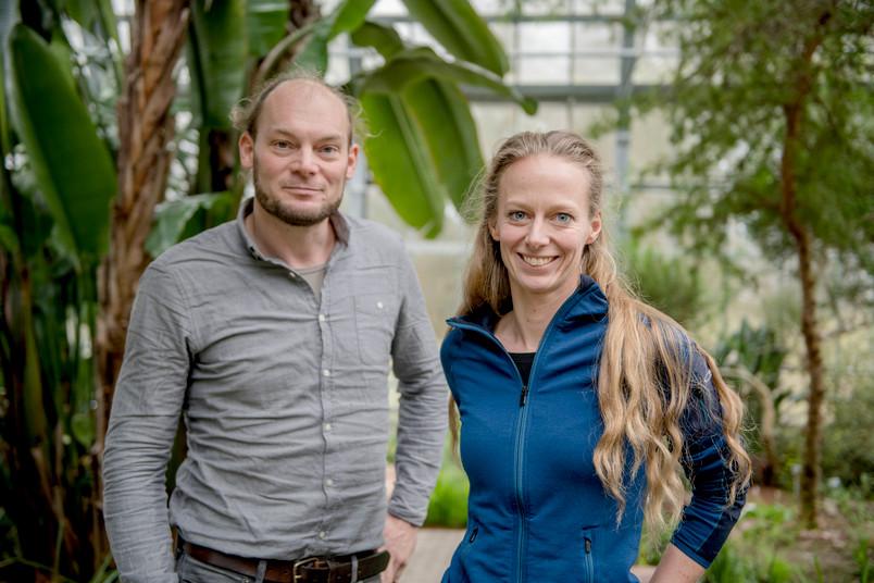 Felix Hager und Kathrin Krausa