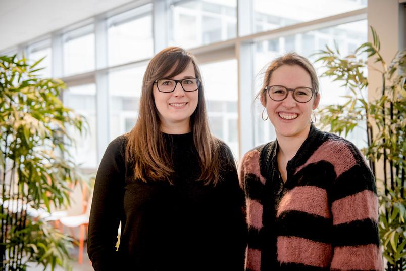 Julia Velten und Milena Meyers