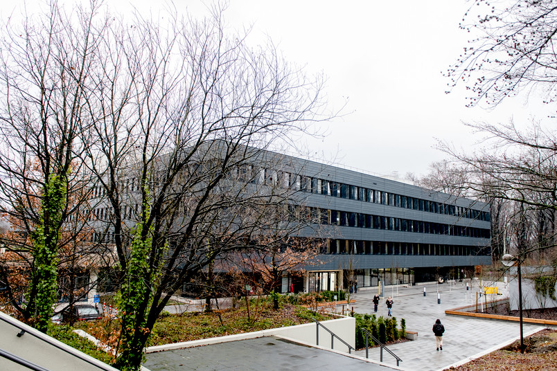 Außenansicht des Neubaus GD