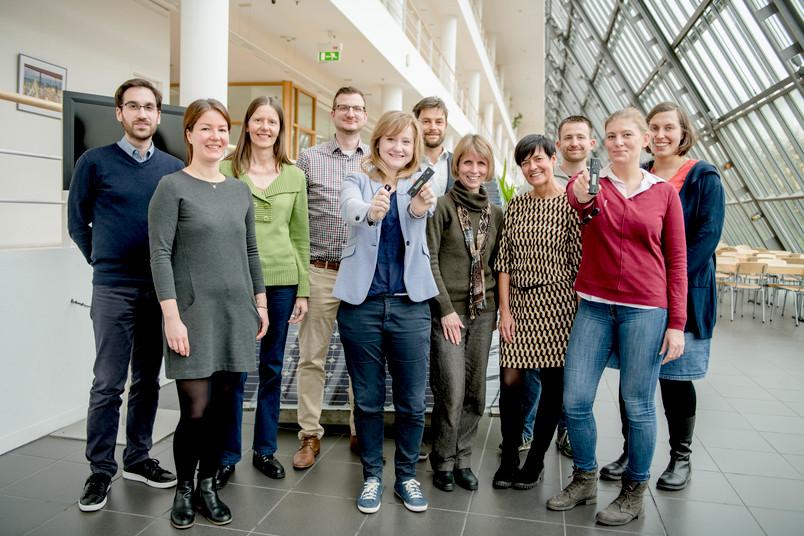 Das Klimnet-Projektteam