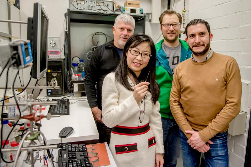 Gruppe Forscherinnen und Forscher