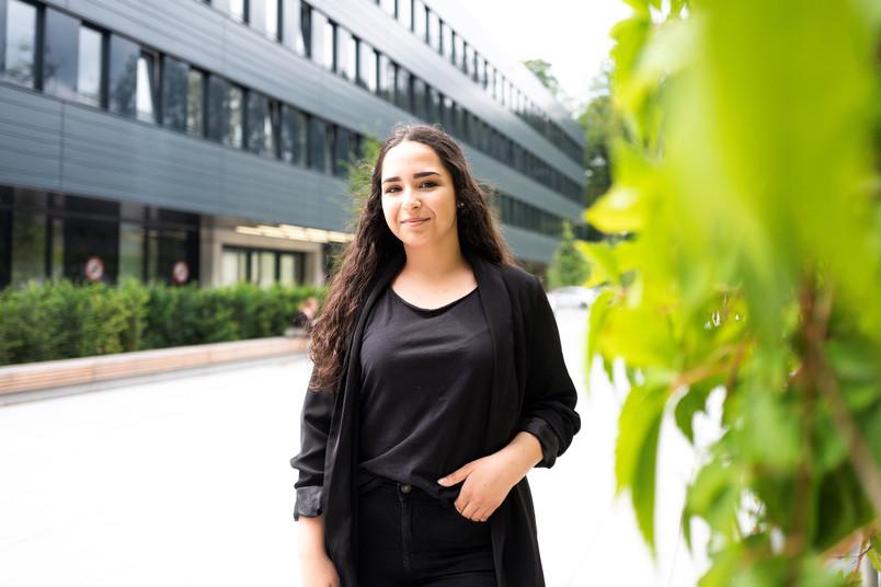 <div> Irem Yalim will Rechtswissenschaft an der RUB studieren.</div>