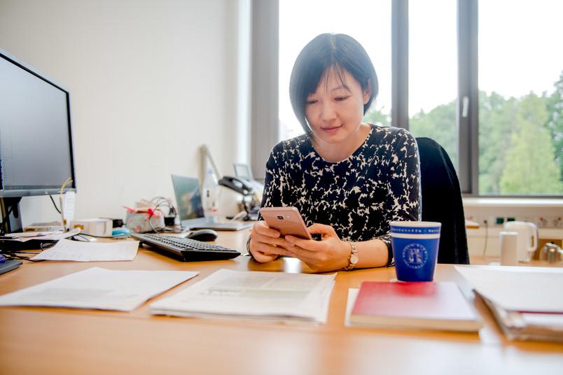 <div> Die Twitter-Gemeinschaft durfte Tong Li virtuell über die Schulter schauen.</div>