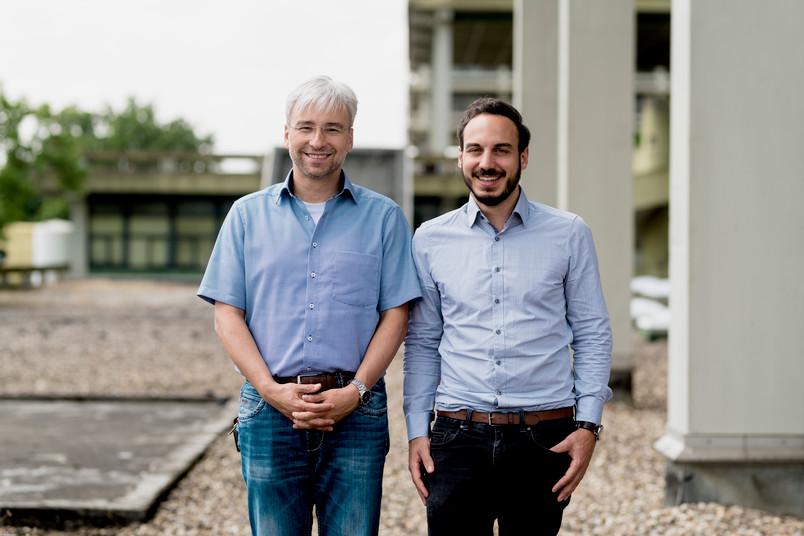 Zwei Forscher