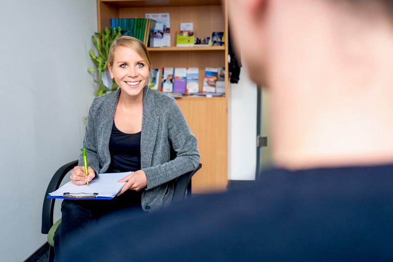 <div> Christina Kuhlmann vom Team der Psychologischen Studienberatung</div>