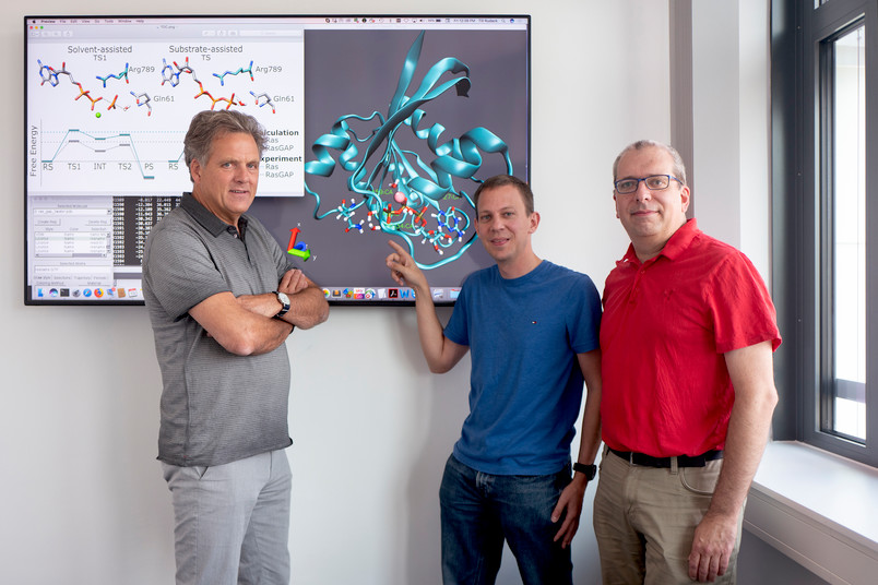 Klaus Gerwert, Till Rudack und Carsten Kötting